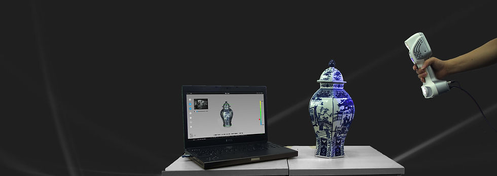 iReal 2E 3D-Scanning