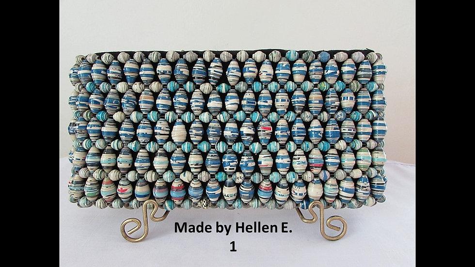 Kustawi Wallet Clutch - Made By Hellen E.