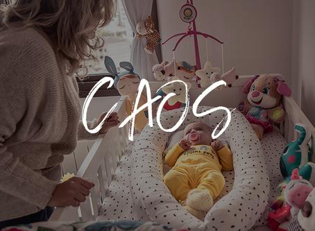 Caos: processo criativo, maternidade, semelhanças e seus aprendizados