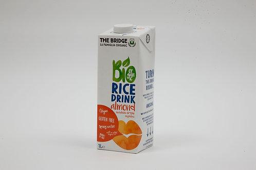 משקה אורז שקדים אורגני