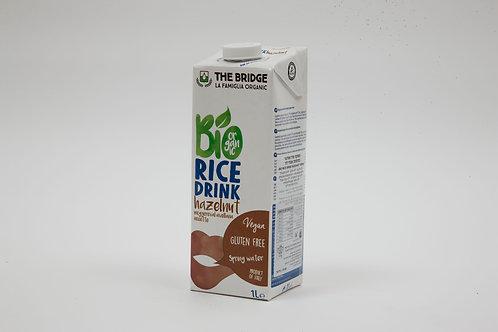משקה אורז ואגוז לוז