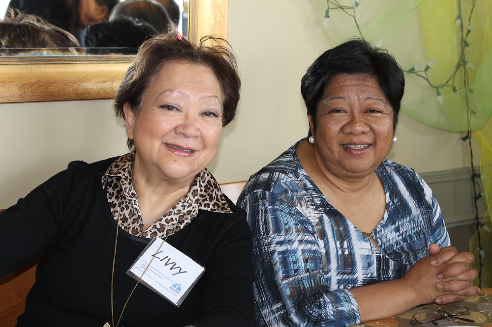 UP Alumni and current Philippine Consul General of Toronto, Rose Prospero, with UPAAT Member Livvy Camacho.