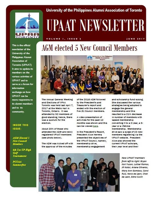 Get Your 2nd Quarter 2017 Newsletter
