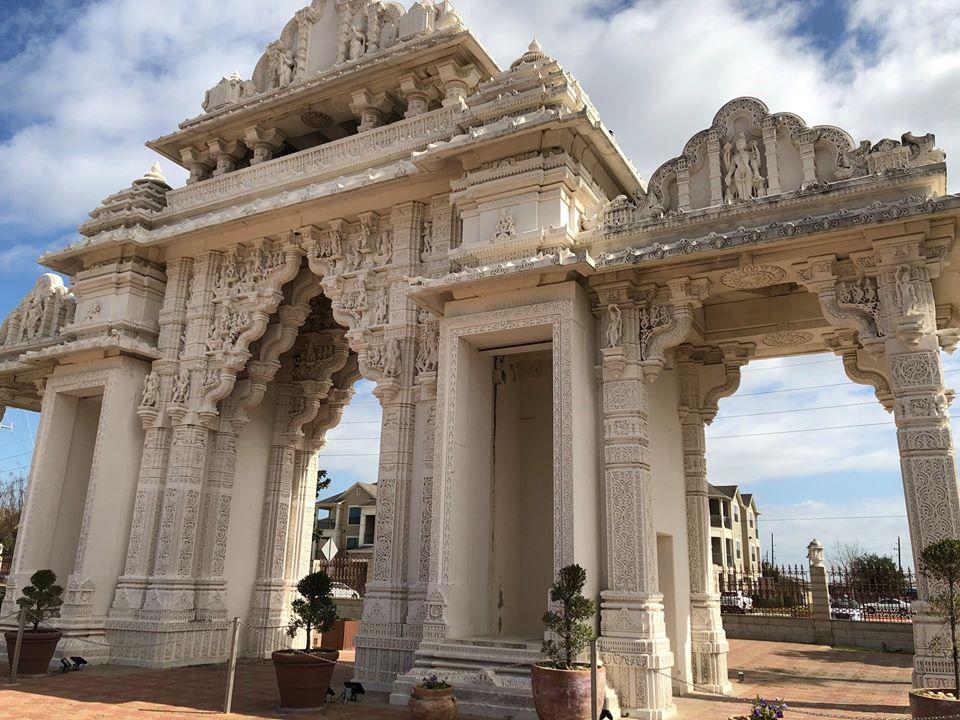 BAPS Swaminarayan Sanstha gate