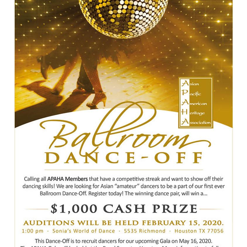 Ballroom Dance-off Audition
