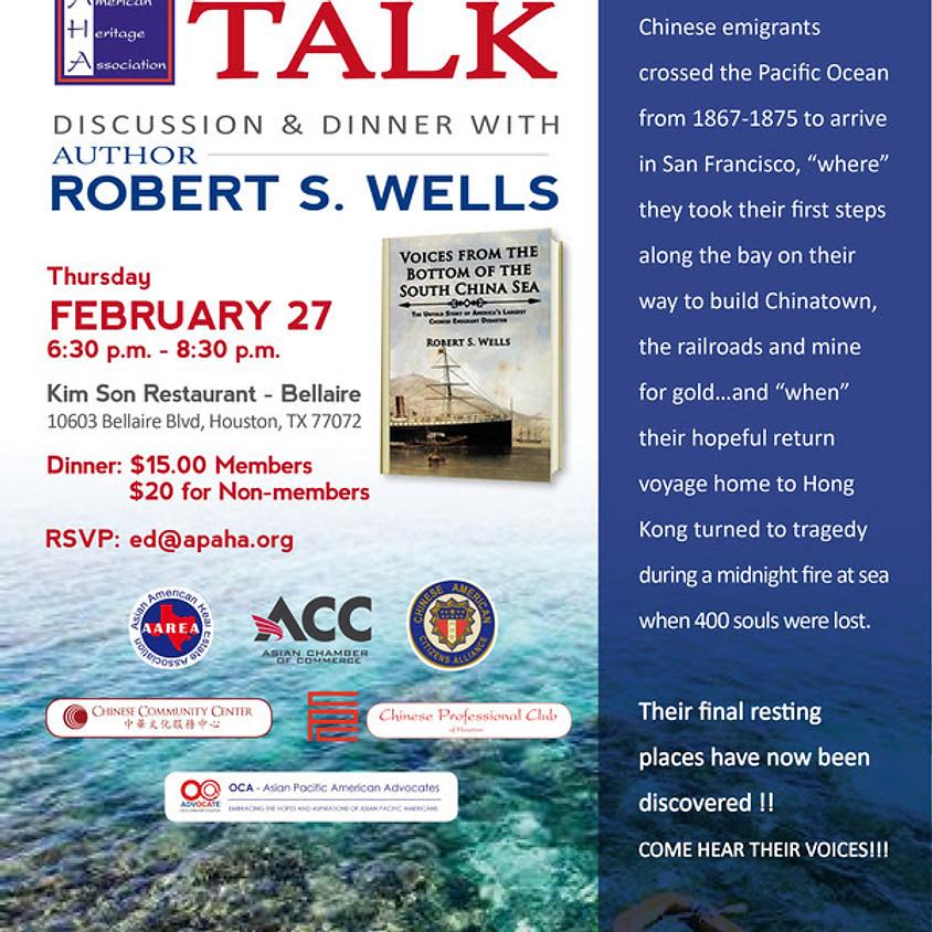 Speaker Series with Robert Wells
