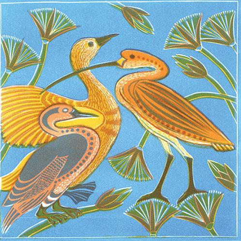 Elaine Marshall- Egyptian Birds