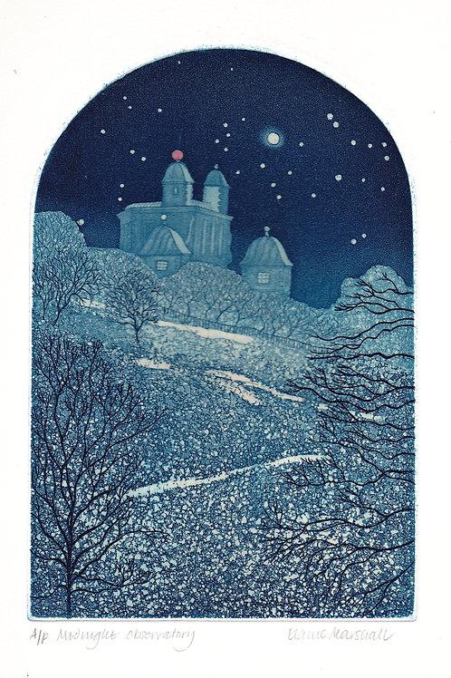 Elaine Marshall-Midnight observatory