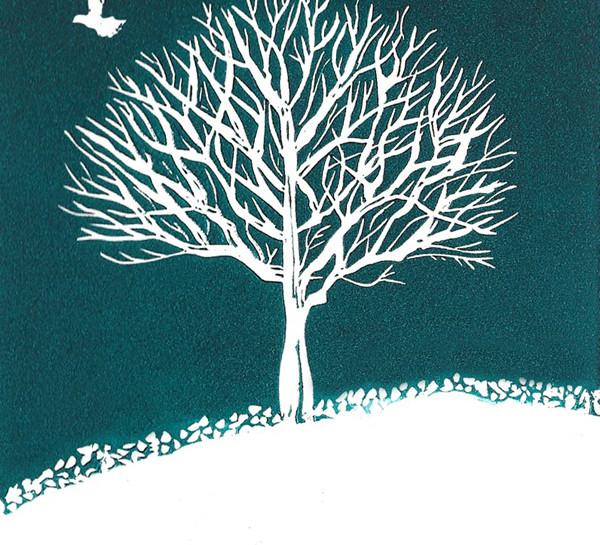Dove and Tree