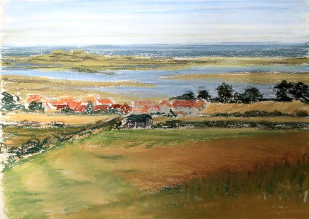 Towards the Norfolk coast II
