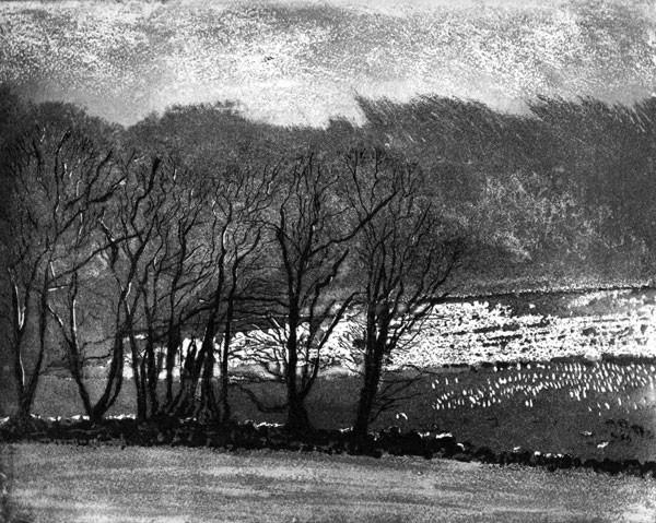 Winter Day at Glendalough