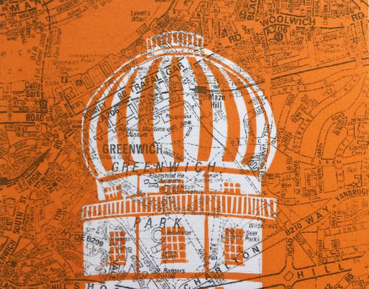 A-Z Greenwich Observatory (orange)