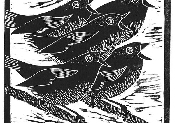 Five Birds Singing