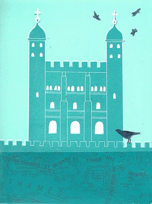 Ann Burnham - Ravens at the Tower