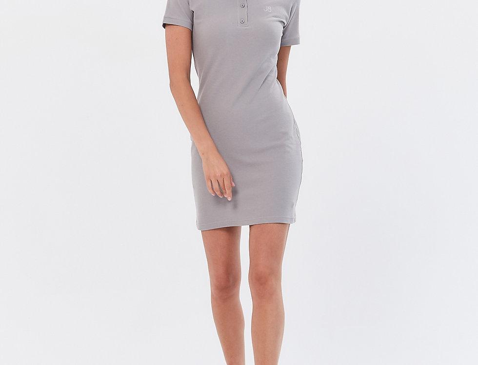 Поло платье
