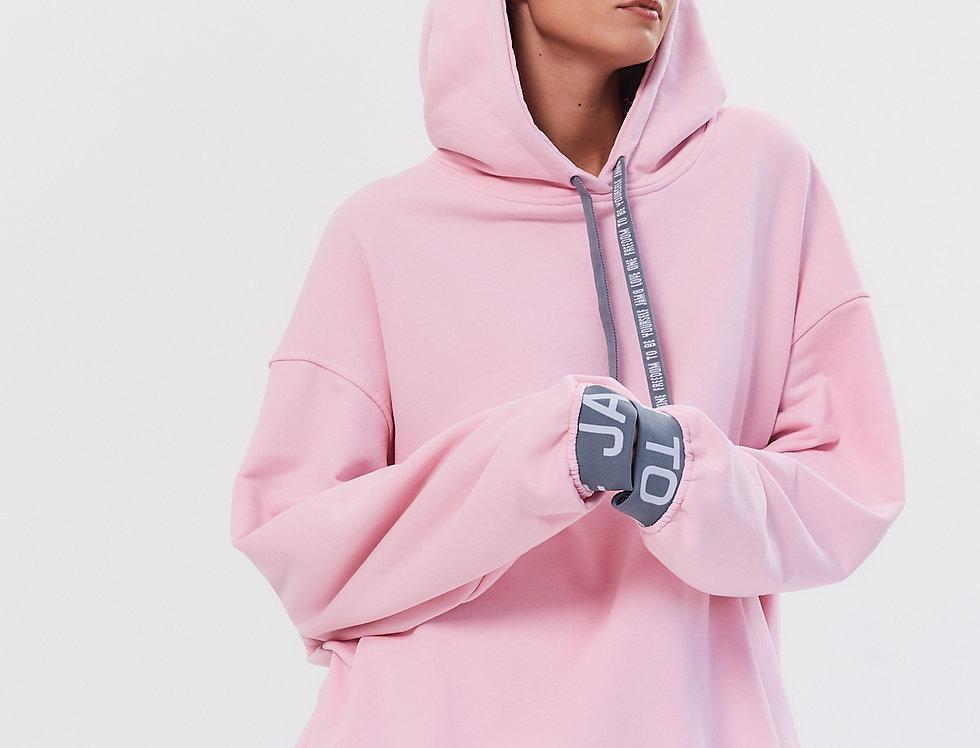 Худи J8Hudi002p pink