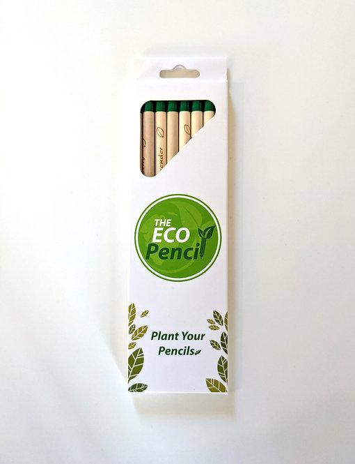 Plantable Graphite Pencils (Pack of 8)