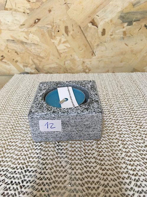 Porta candelain pietra naturale