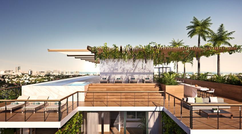 Monad Terrace - Roof Pool - JDS Developm
