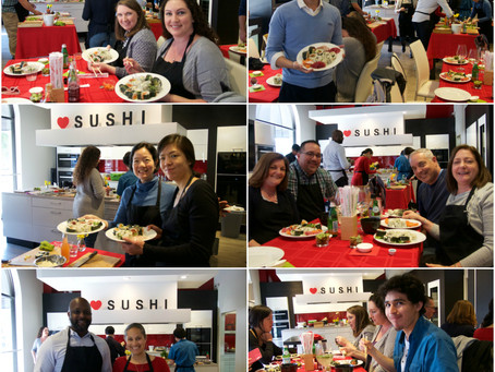 "Photos from Sushi Making Class ""SELECT"""