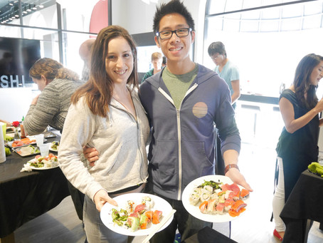 Photos from the Sushi Class, Saturday October 17, 2015