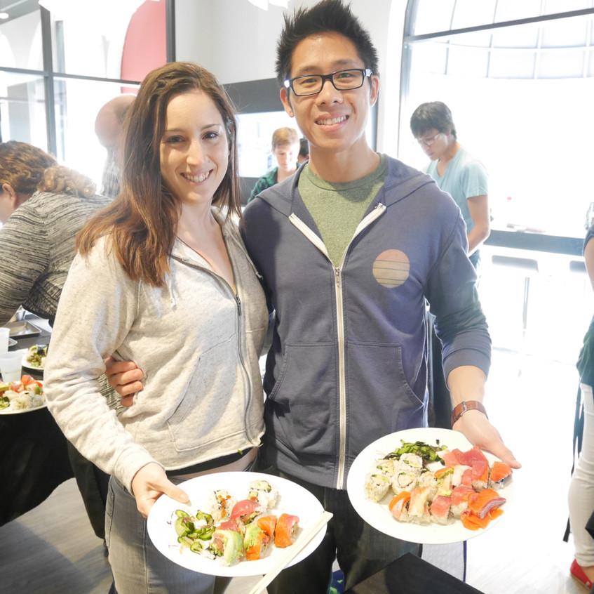 San Francisco Sushi Class October 17, 2015 4