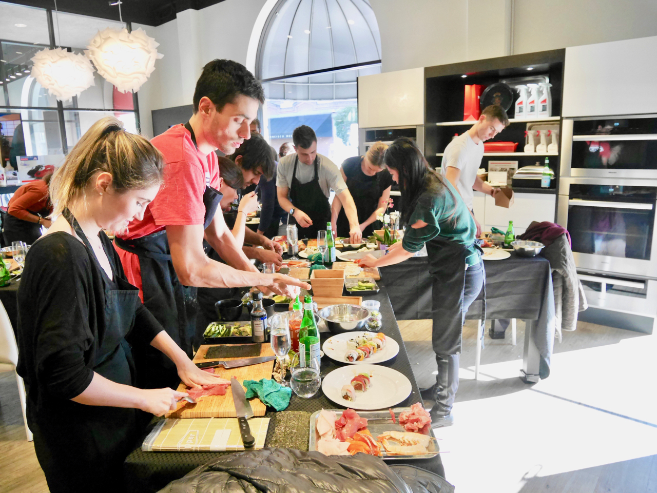 #180120SAT San Francisco Sushi Class 4