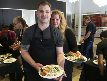 Photos from the Sushi Class, Saturday August 15, 2015