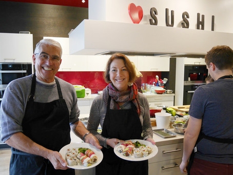 Photos from the Sushi Class, Saturday March 12, 2016