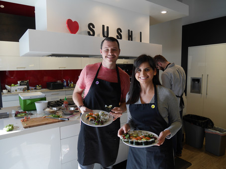 Photos from from the Sushi Class, Saturday February 6, 2016