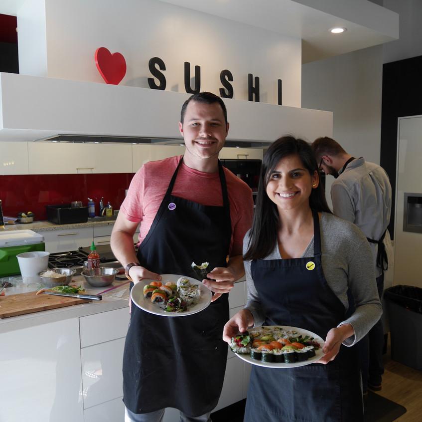San Francisco Sushi Class February 6, 2016 4
