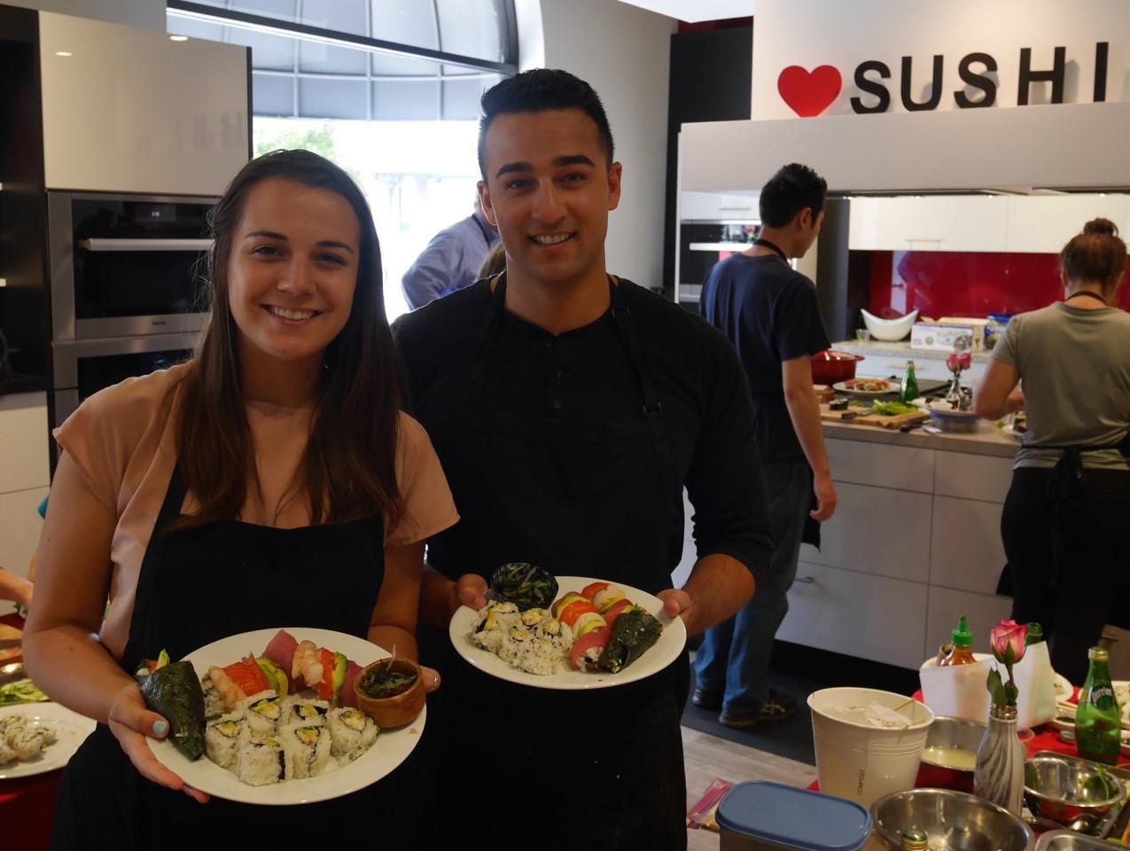 San Francisco Sushi Class July 9 2016 7
