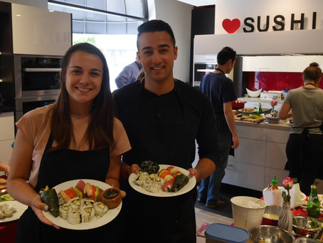 Photos from the Sushi Class, Saturday July 9, 2016