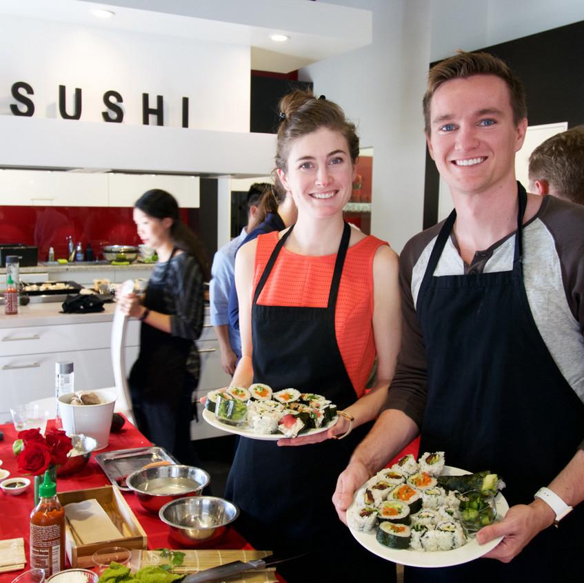 San Francisco Sushi Class 20177