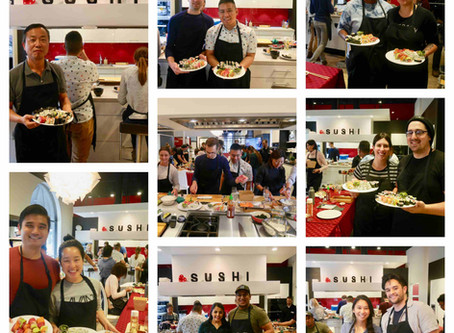 Photos from Public Sushi Class