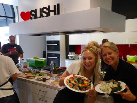 Photos from the San Francisco Sushi Class, Saturday April 9, 2016