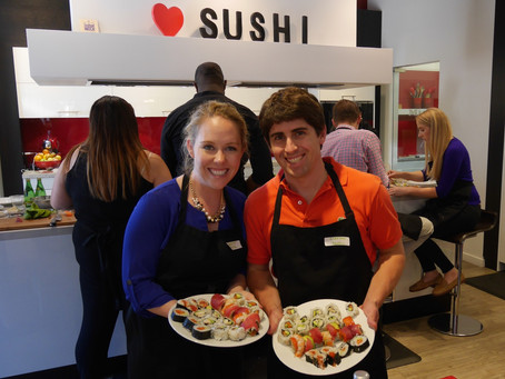 Photos from the Sushi Class, Saturday June 11, 2016