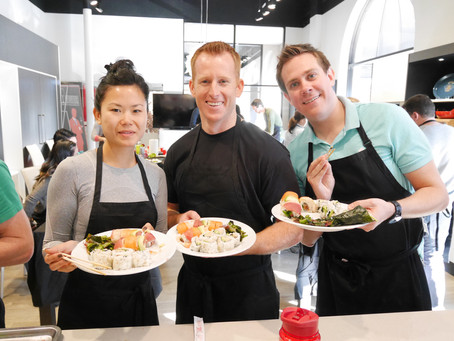 Photos from the Sushi Class, Saturday November 14, 2015