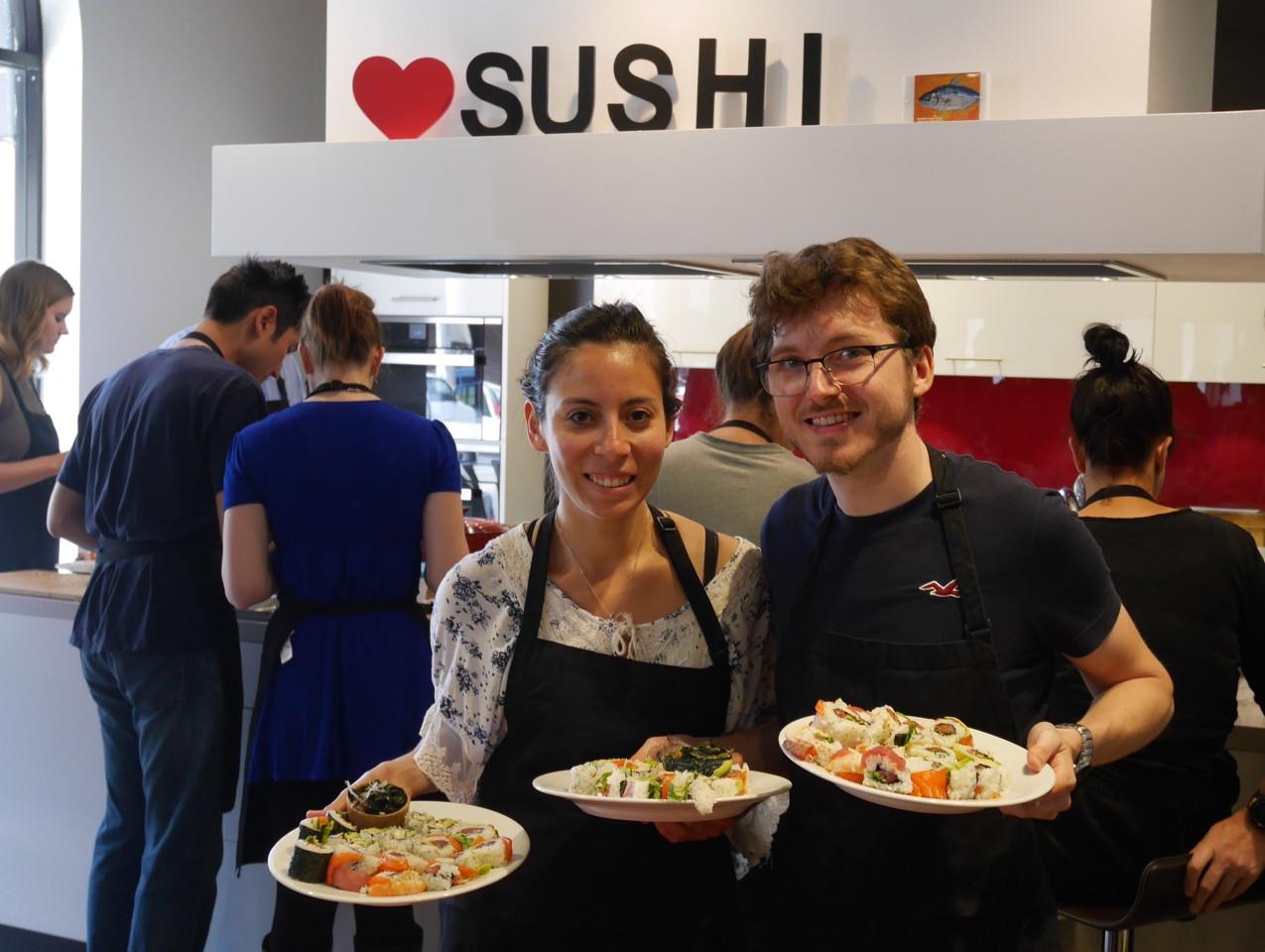San Francisco Sushi Class July 9 2016 9
