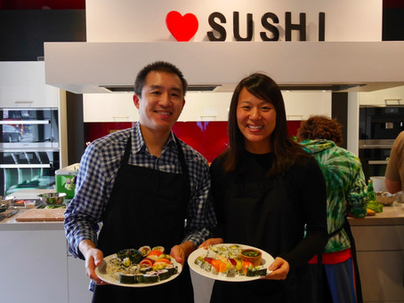 Photos from the Sushi Class, Saturday May 7, 2016