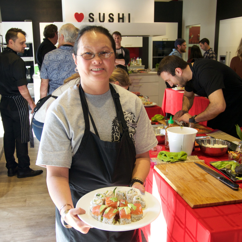 San Francisco Sushi Making Classes