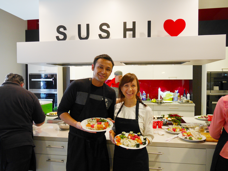 Photos from the Sushi Class, Saturday December 12, 2015