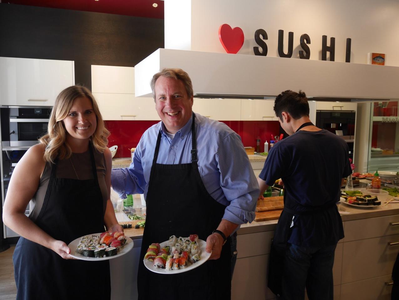 San Francisco Sushi Class July 9 2016 4