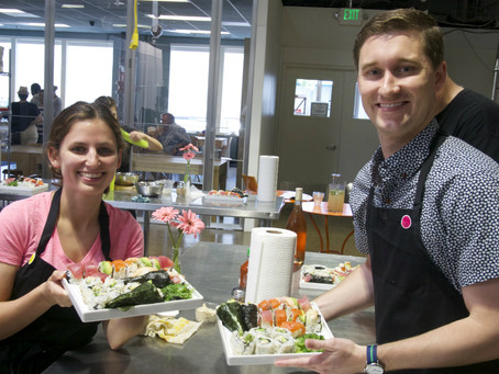 Photos from the Sushi Class, Saturday May 2, 2015