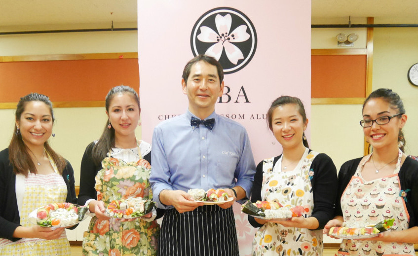 Cherry Blossom Almanae Sushi Class 3