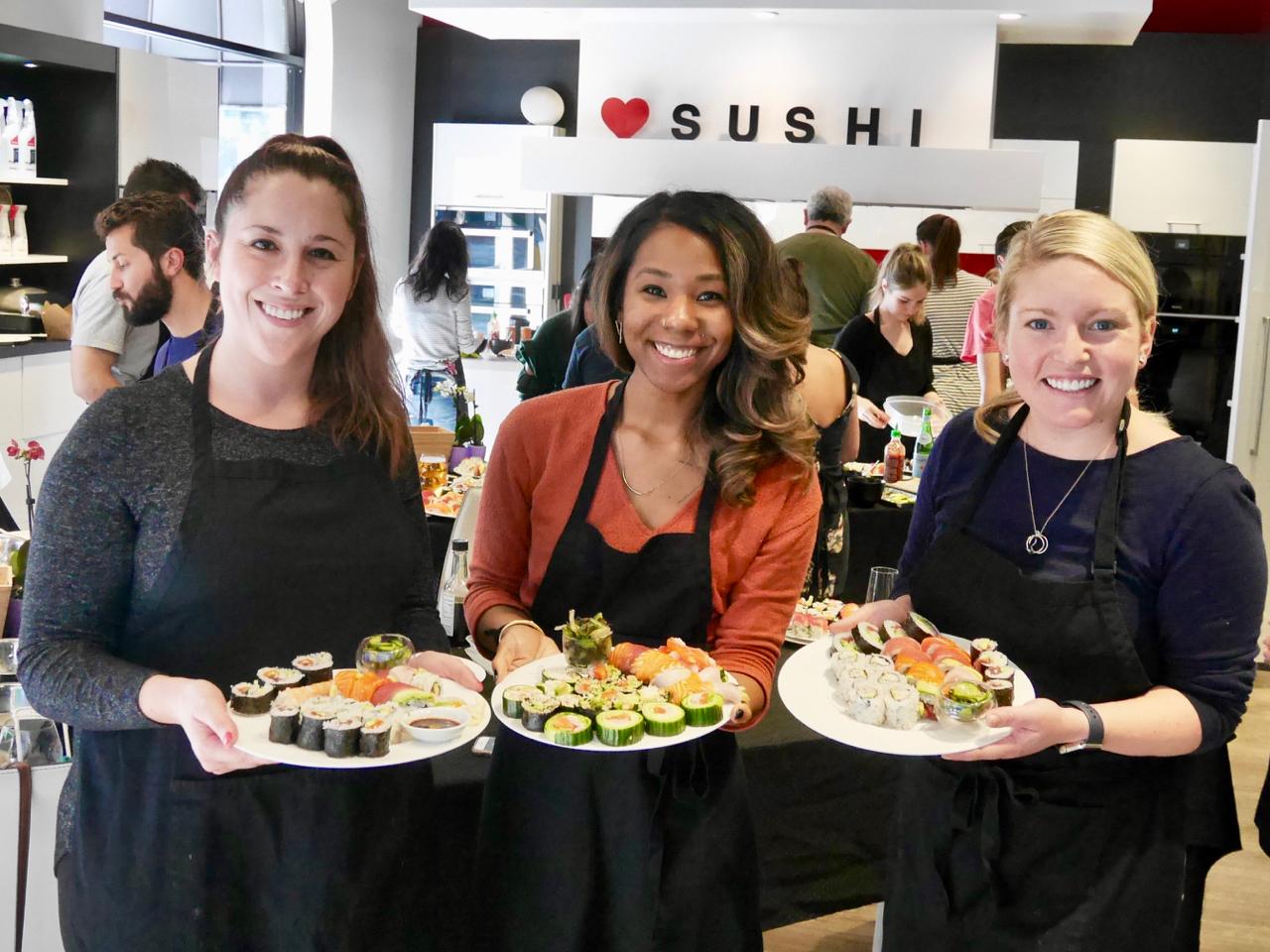 #180120SAT San Francisco Sushi Class 2