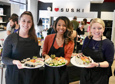 New public Sushi Class dates available