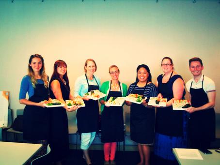 Photos from Team Building Sushi Class for San Francisco Ballet