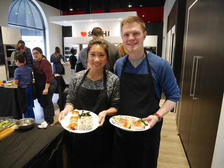 Photos from the Sushi Class, Saturday January 9, 2016