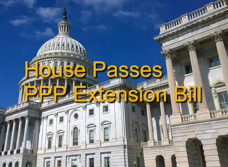 House Passes PPP Extension Bill